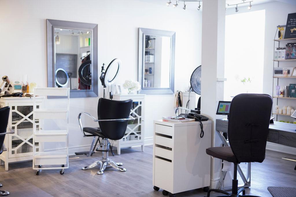 beautiful orangeville hair salon downtown orangeville