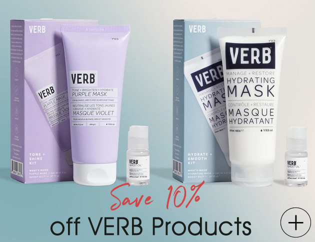 save 10 off Verb hair care products